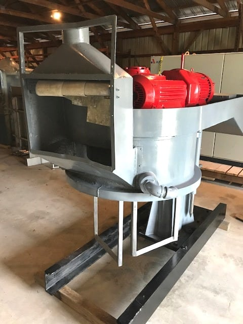 "Used Double Planetary Mixer. Believed to be a ROSS 150 gallon model CDM-150. Unit comes with (11) 40"" ID x 32"" Deep, Carbon Steel Mix Cans with 4"" outlets with valve. 15 HP, 1800 rpm, 208-220/440 volt, Explosion Proof motor.(Located in New Jersey)***ECR***"