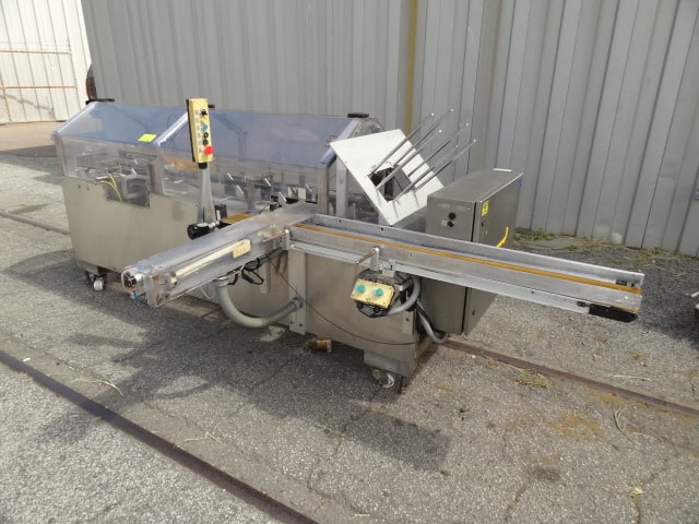 "Combi Case Erector / Packer / Sealer System, Model # SPP, S/N 110146694, servo-driven packer / 2"" 3M Accuglide tape heads / Allen-Bradley 5/03 PLC (Located in South Carolina)***NORTH***"