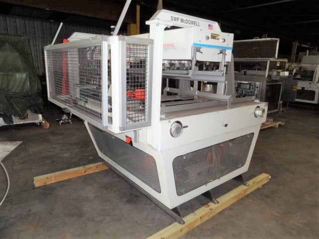 McDowell Case Erector, Model # 101T-RH, S/N 3981091, for parts or rebuild - unit is missing AB controls and tape head (Located in South Carolina)***NORTH***