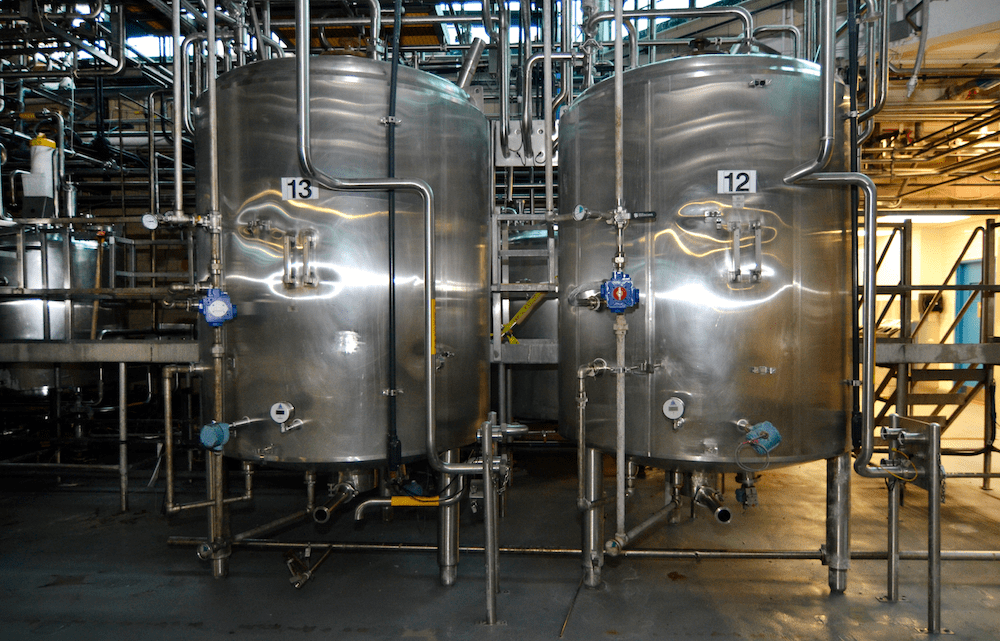 MILK, OIL, BRINE, MARGARINE BLENDING SYSTEM
