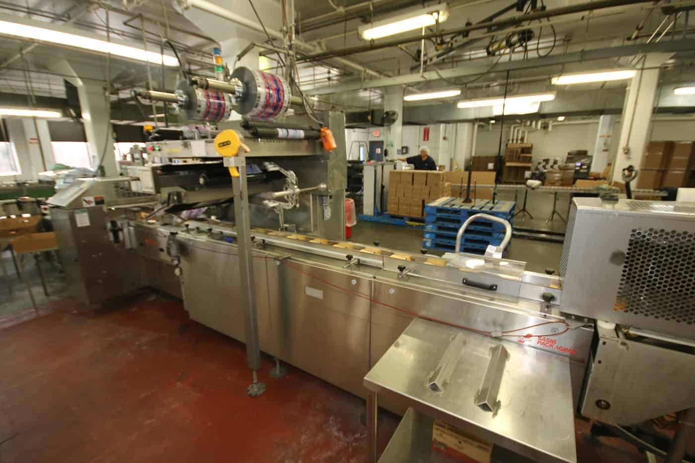 (4) KUSTNER IWS PACKAGING LINES