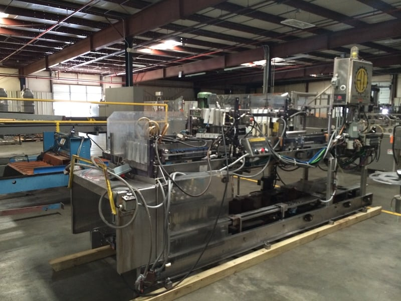 Hartness 825 Case Packer