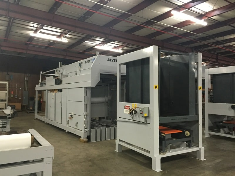 Alvey 920 High Speed Case Palletizer