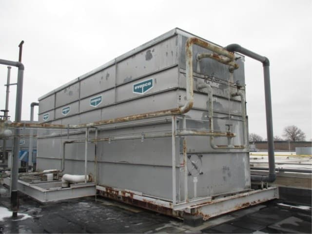 Evapco PMCA-1170, 830-Ton Evaporative Condenser, Model: PMCA 1170, Serial Number: 943064