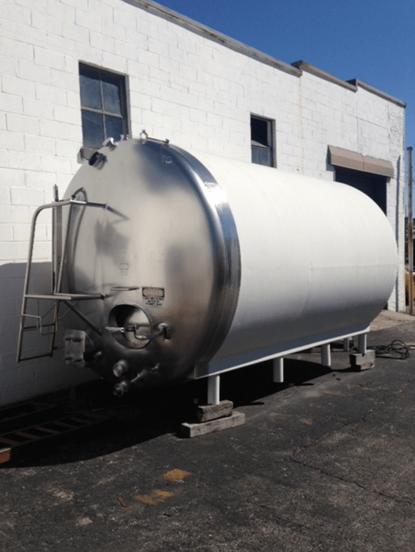 Creamery Package 5,000 Gallon Tank