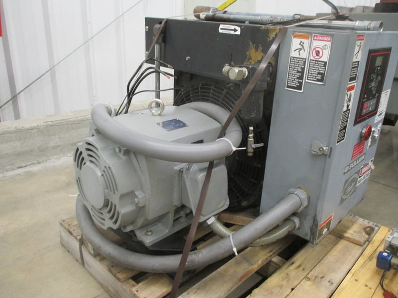 Sullair 25Hp Compressor 230/460 Volts, 56.2/28.1 Amps, 60Hz, 3530 Rpm, Model: 8E25H, Serial Number: 003-93229
