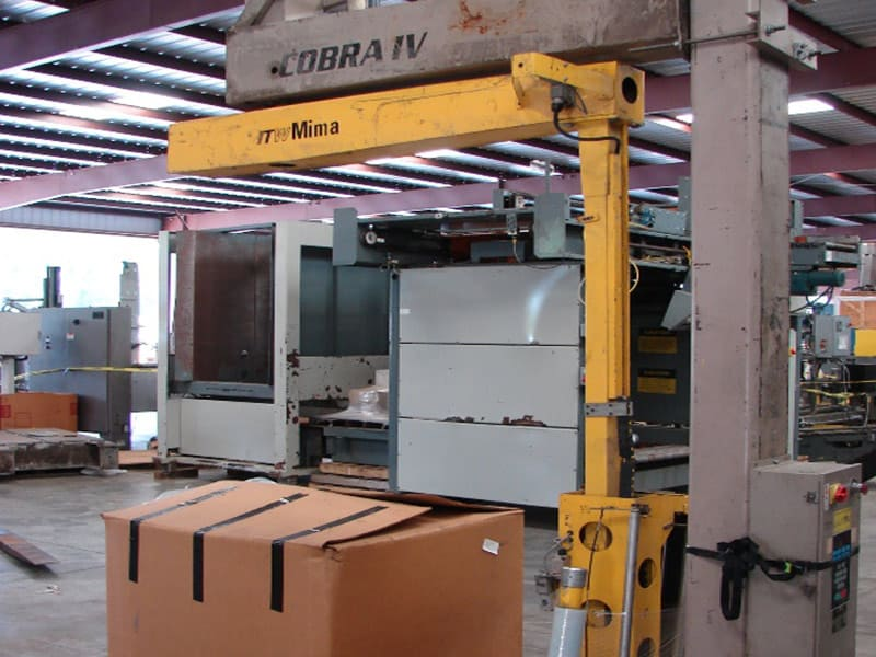 ITW Mima Semi-Automatic Pallet Wrapper