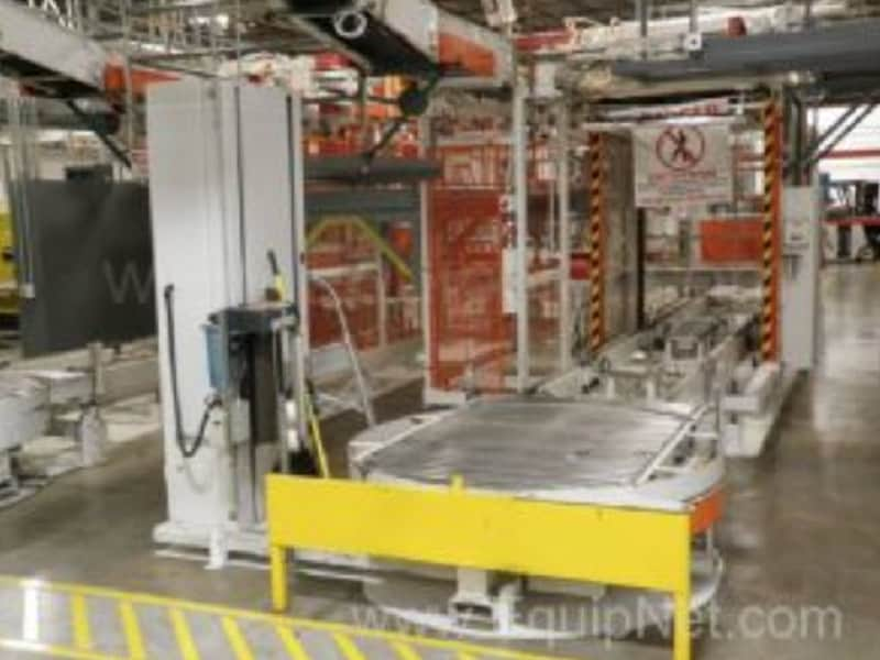 Litton UHS Von Gal High Level Dual Lane Palletizer