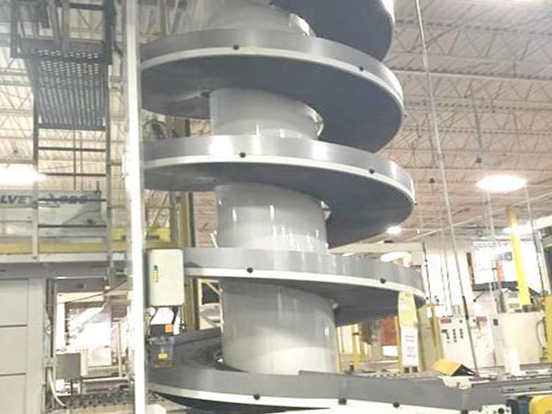 AmbaFlex Spiral Case Conveyor