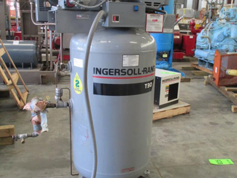M Davis Plant Support Equipment | Ingersoll-Rand
