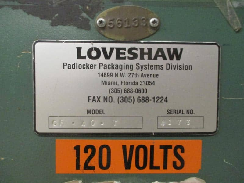 Loveshaw Padlocker Case Erector