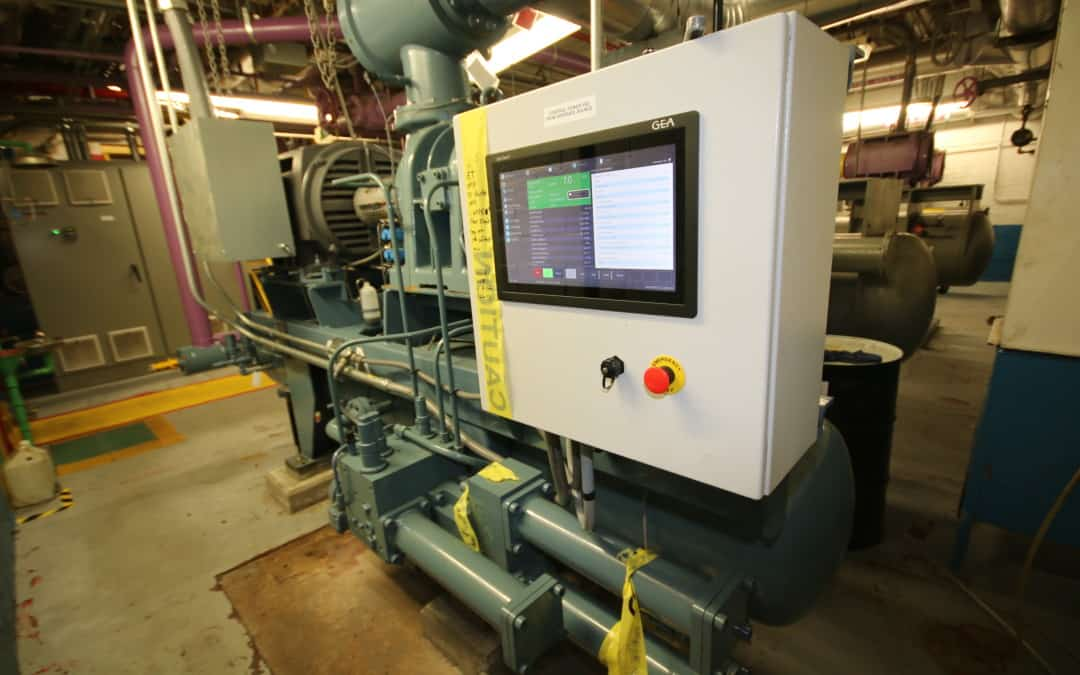Online Auction: Complete NH3 Refrigeration System