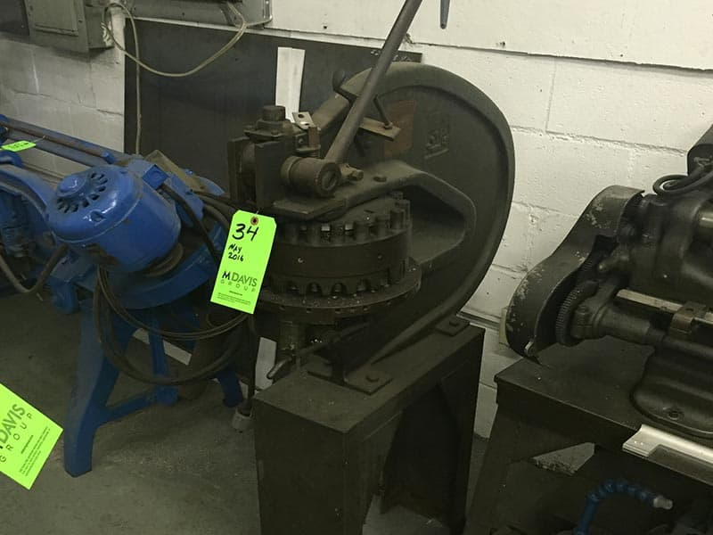M Davis Machine Shop Equipment