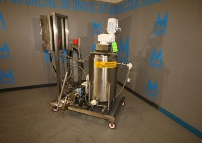 Food, Dairy, Chemical Processing & Powder Handling Equipment Auction at M Davis Group Showroom