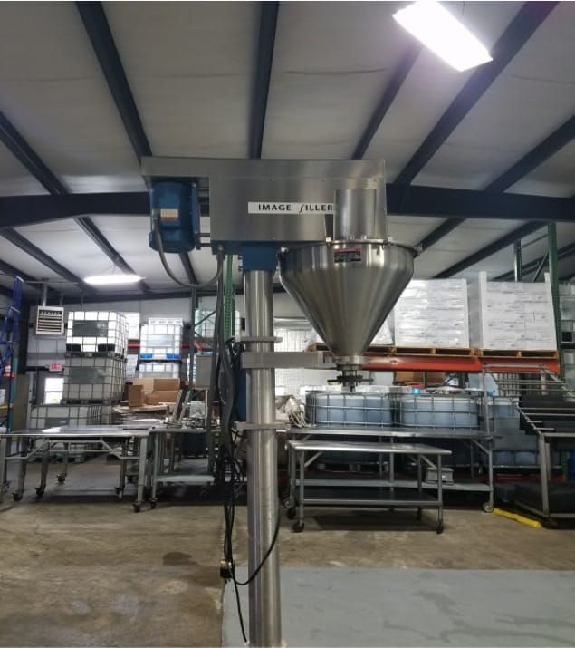 Image In-Line Auger Filler, Model 2000