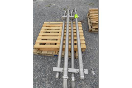 Aprox. 10 Meters Long S/S Holding Tube, DIN 80