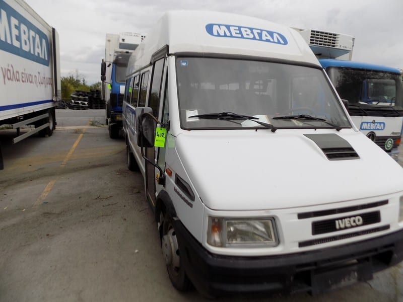 Iveco 18-Seat People Carrier, Model Turbo Daily 45-12