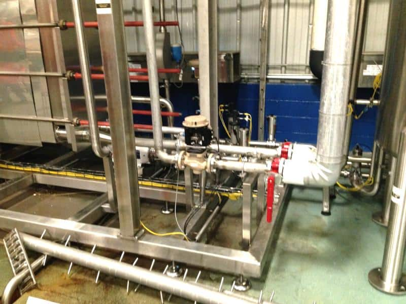 Barry-Wehmiller Flash Pasteurization Skid Serial 61180