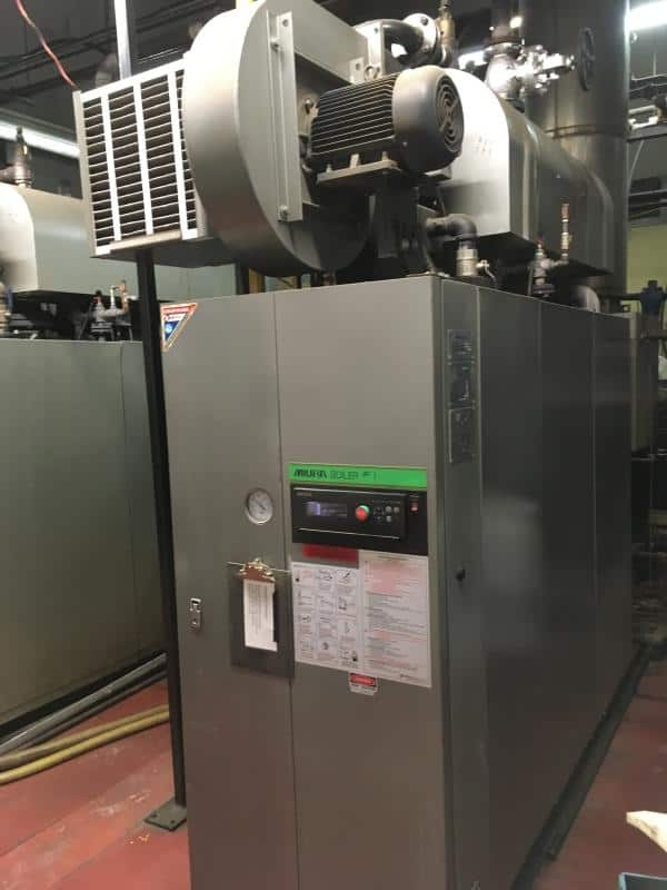 Miura Steam Boiler Model: LX-200 Serial: 47S472153