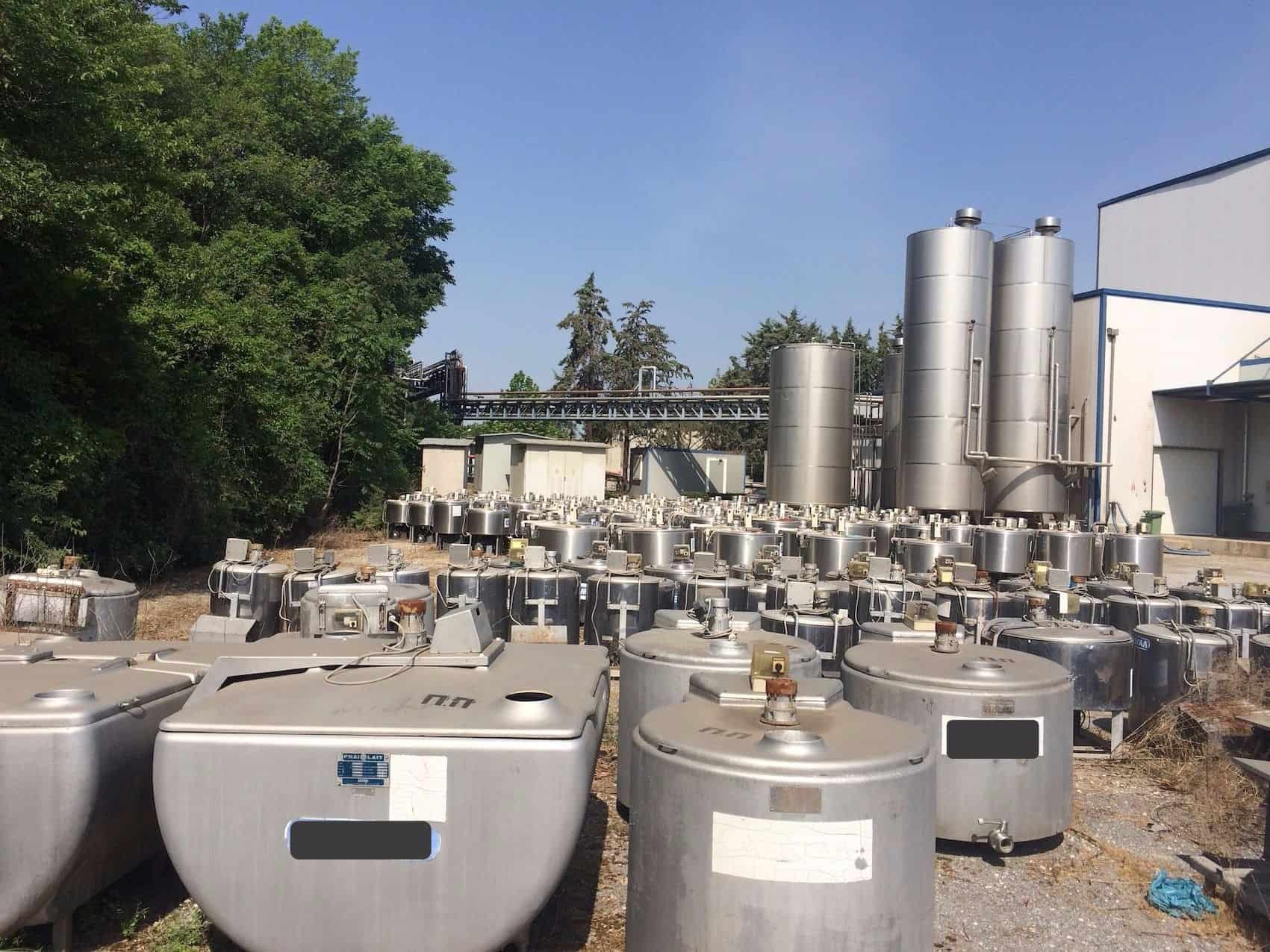 Japy & Ermicon Dairy Tanks