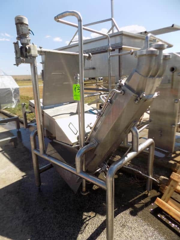 2002 COMAT Stretcher Feeder (Condition Good) (Part Of Combination)