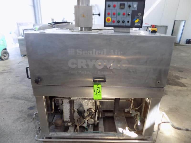2007 Sealed Air S/S Cryovac Food Packaging Systems, Model ST98-600 STEAM, S/N A54301323