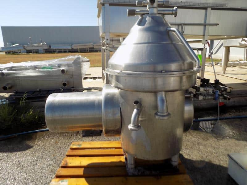 Reda 6,900 GPM S/S Cream Separator, Model RE 100/T, S/N C070/072, 18.5 KW
