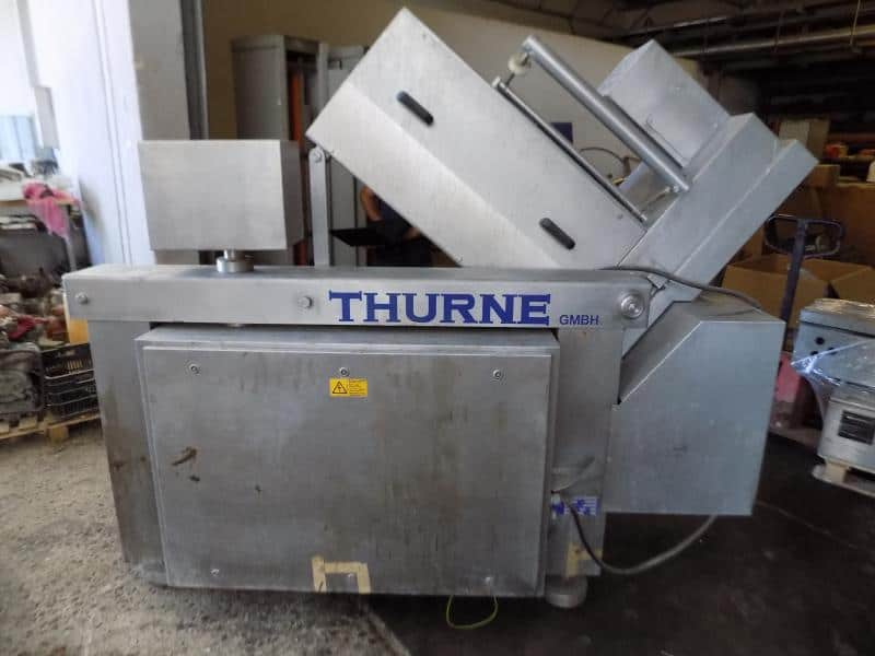 Thurne GMBH S/S Cheese Slicer, Type MS with (2) Control UnitsTHURNE GMBH , Cheese Slicer , Two Control Units,Touchpad Display - Digital Read-Out