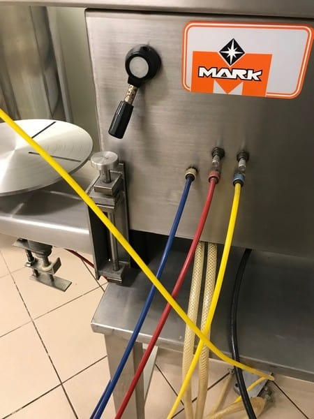 Mark S/S Ice Cream Tub Filler (Fills Various Size Tubs)
