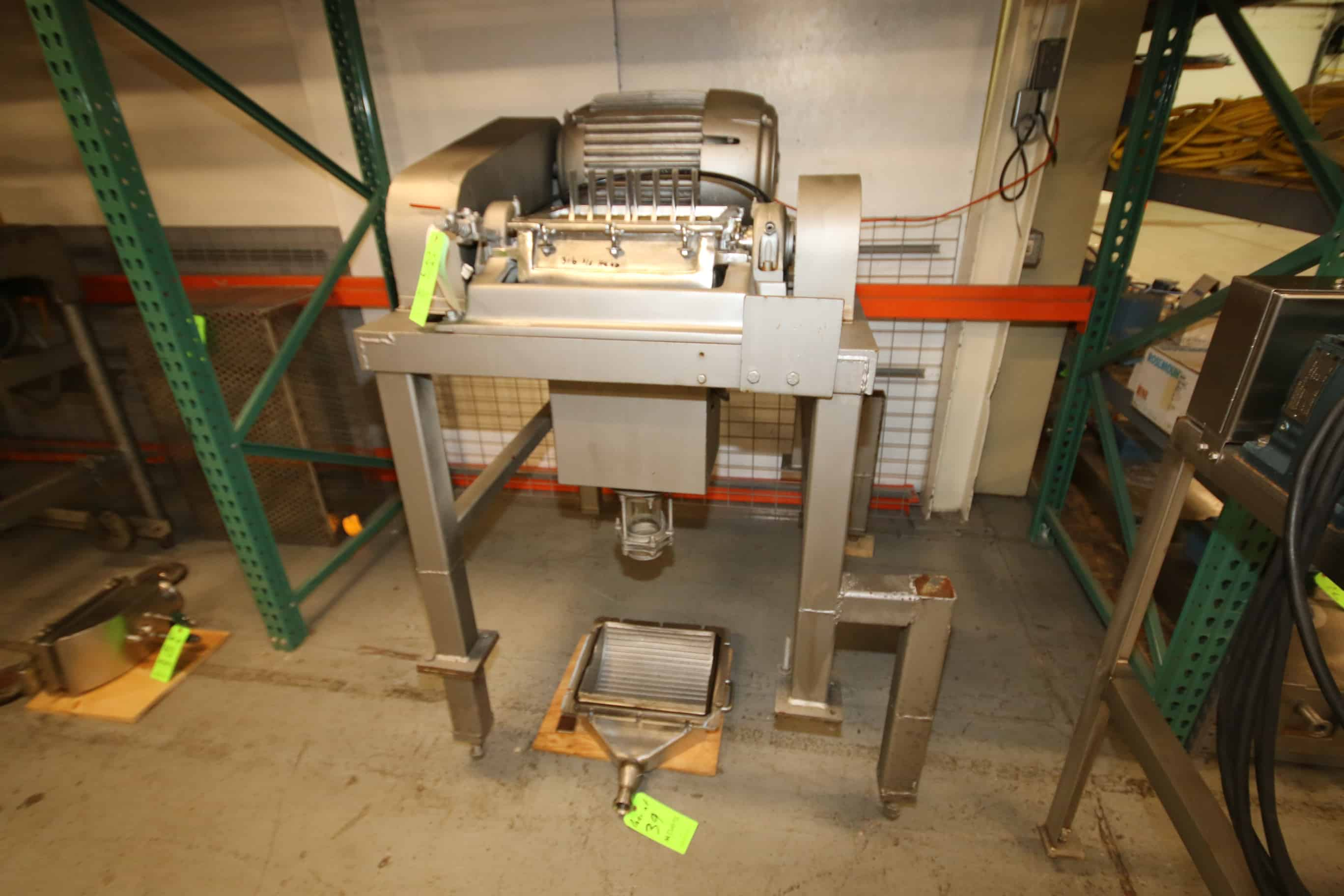 Fitzpatrick Comminuting Fitzmill with 316 S/S Head, 13″ x 11″ Blade Area, 30 hp, 3520 RPM Motor, 230/460 V, 3 Phase (Located in Pittsburgh)