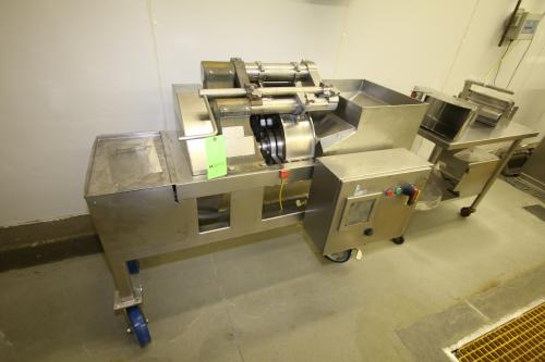 Urschel Shredder, M/N G-A S/N 2430, with Assortment of Change Parts, Mounted on S/S Portable Frame