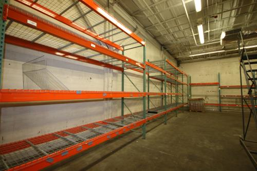 Assorted Warehouse Pallet Racking