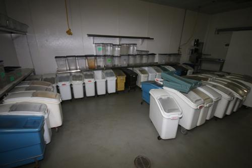 Assorted Ingredient Bins