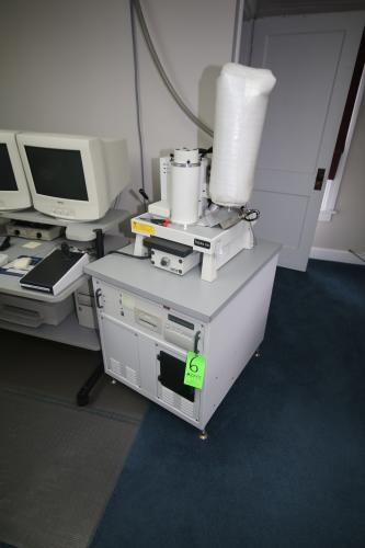 RJ Lee Instruments Ltd. Scanning Electron Microscope, S/N 04377;10043, with Agilent Tech Dry Scroll Vacuum Pump, M/N EXIDP3B11