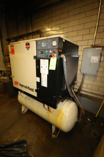 Ingersoll Rand 30 hp Horizontal Air Compressor, Series 15, with Air Dryer
