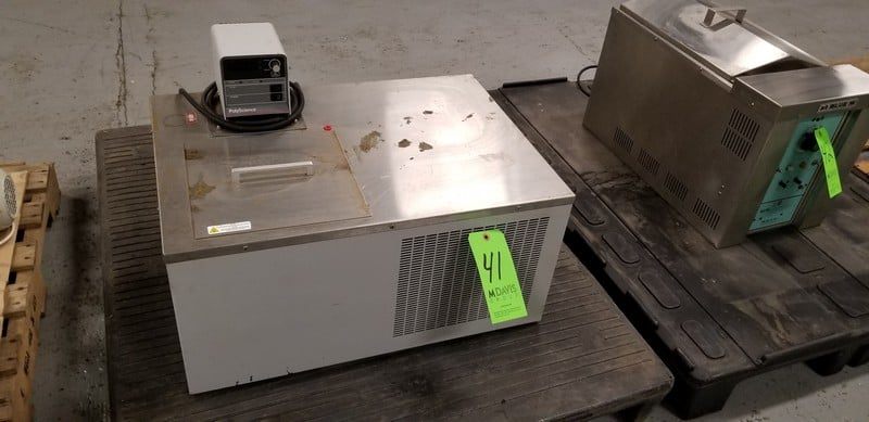 PolyScience Hot Water Bath, Model 9605, S/N 910002, 120 V, Single Phase