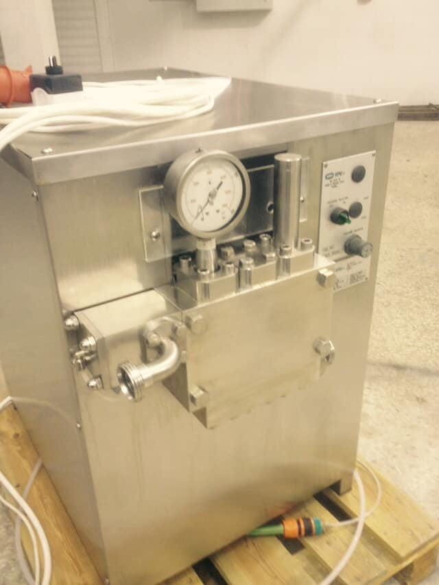 Bertoli 800 Liter/Hr Homogenizer, In Excellent Like New Condition