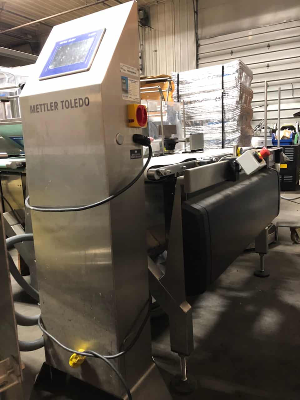 (2)Mettler Toledo High Speed Check Weigher, Model Beltweigh XE, Previously Running 50 PPM (Located in Newark, NJ)***BFEM***