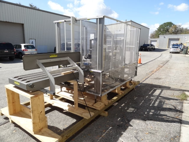 "Pearson Case Erector, Model # R235-T, S/N 2359358, bottom flap taper with 2"" 3M tape head / AB PLC (very good condition)(Located in South Carolina) ***NSP***"
