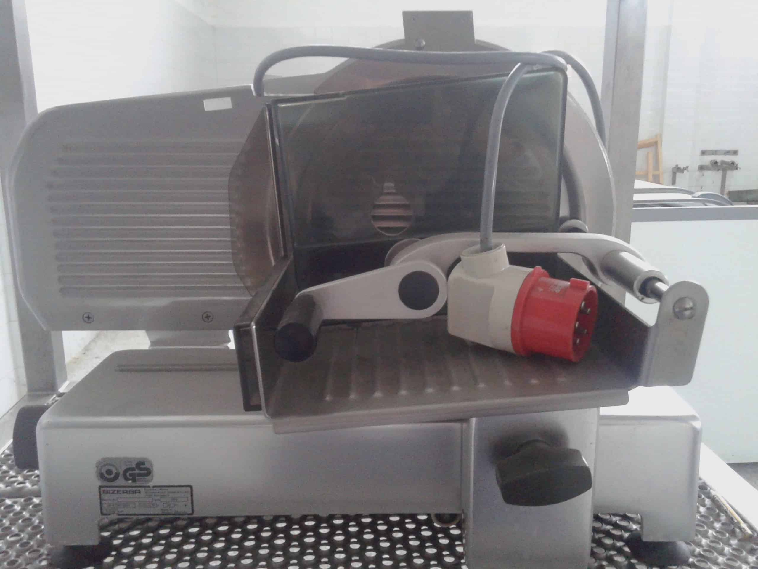 Bizerba Automatic Deli Meat adn Cheese Slicer, Type VS8, 220/380V