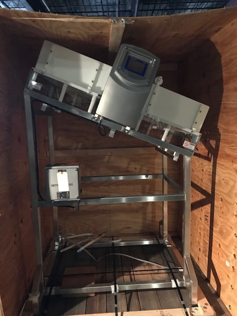 2013 New / Never Installed Safeline Metal Detector, Model SL2000, S/N 7052901, Mounted on S/S Frame (Located in Newark, NJ)***BFEM***