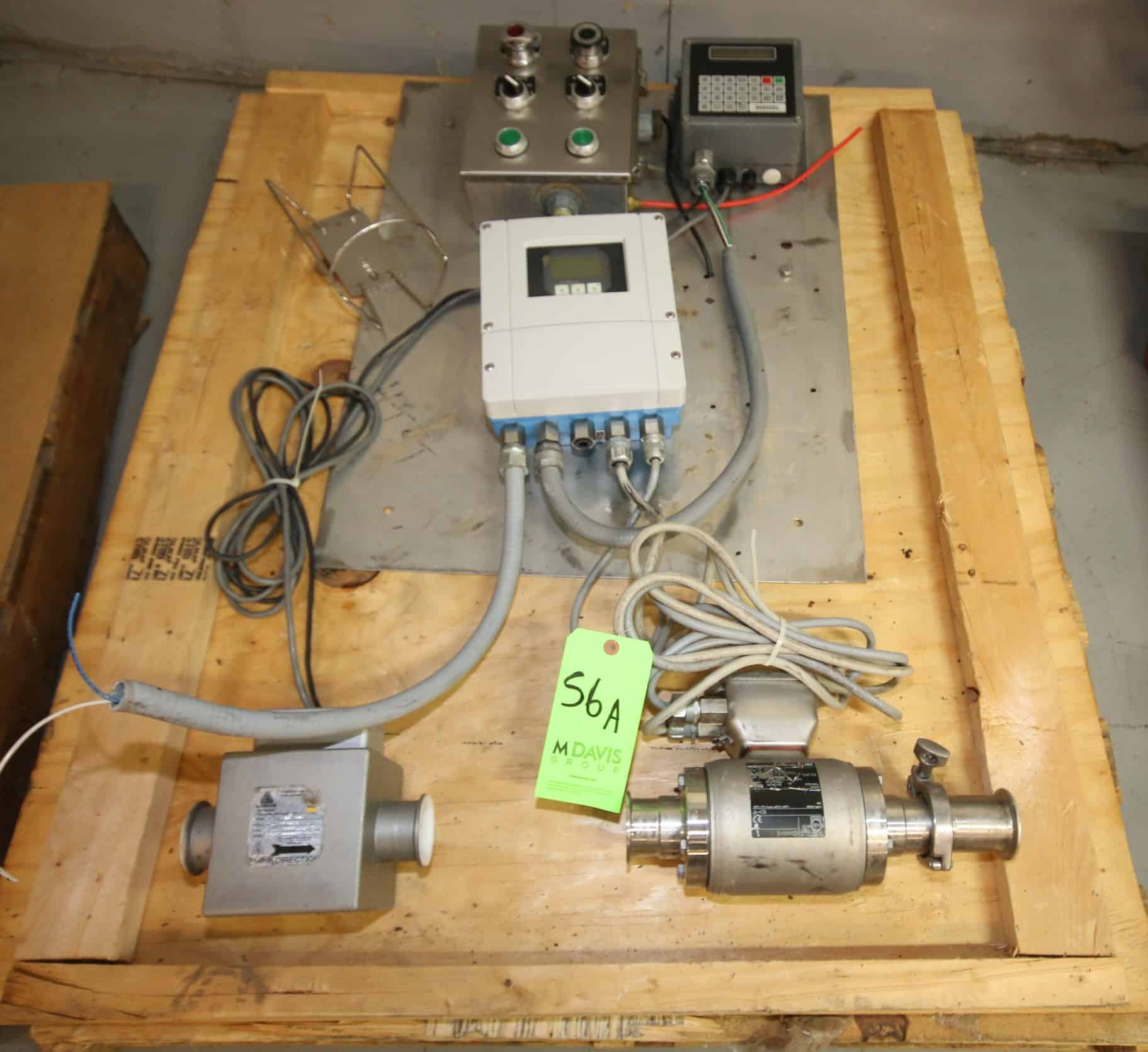 "Blender Flow Meter System includes Anderson 2"" Flow Meter, Model IZMS-50D with Diessel Read-Out, Endress+Hauser 2"" Clamp Type S/S Flow Meter with Digital Read-Out and Some Controls"