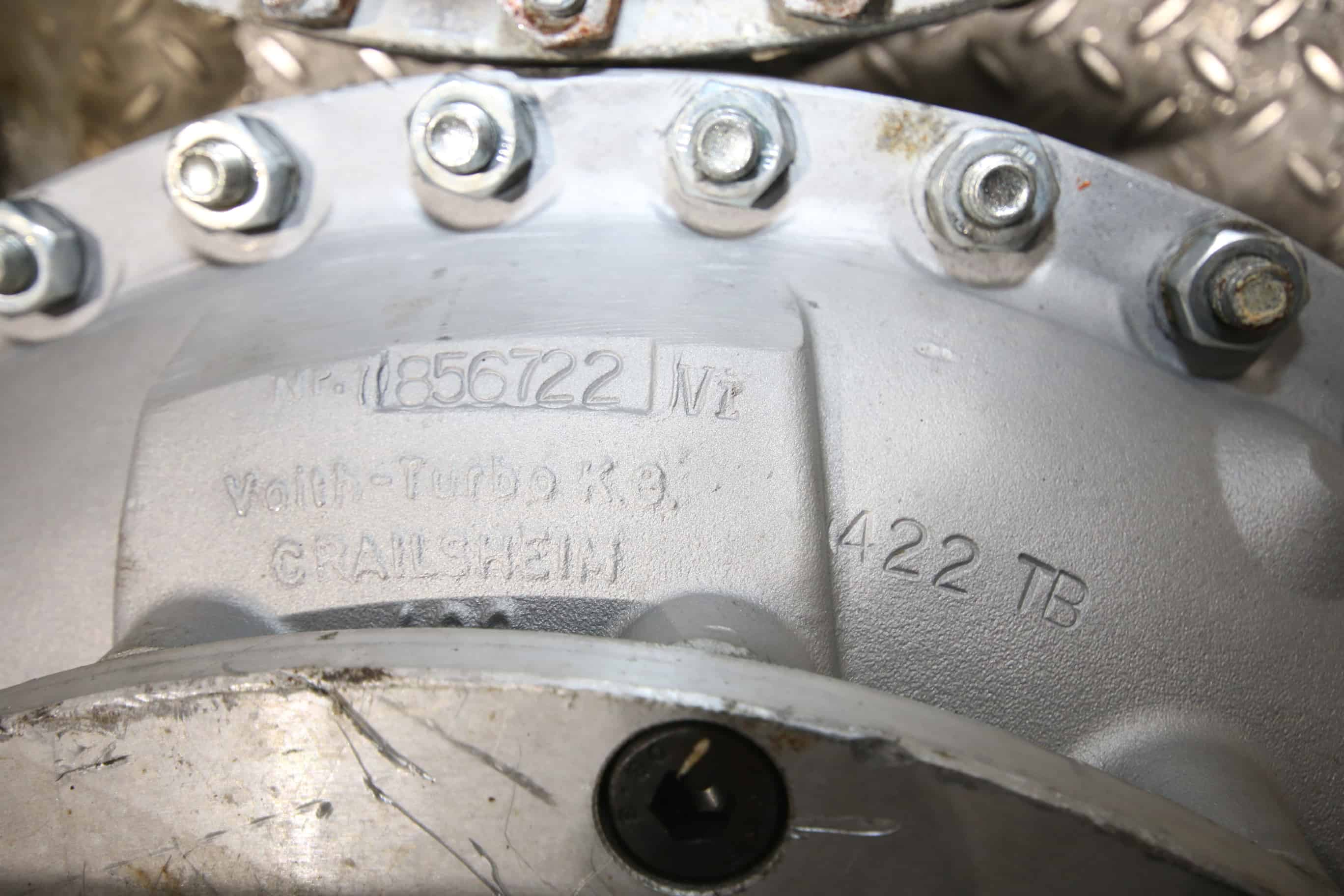 GEA/Westfalia MSB170 and Other Separator/Centrifuge Clutch, Type 422TB, Part #856722 (Note: Appears to be New or Rebuilt)