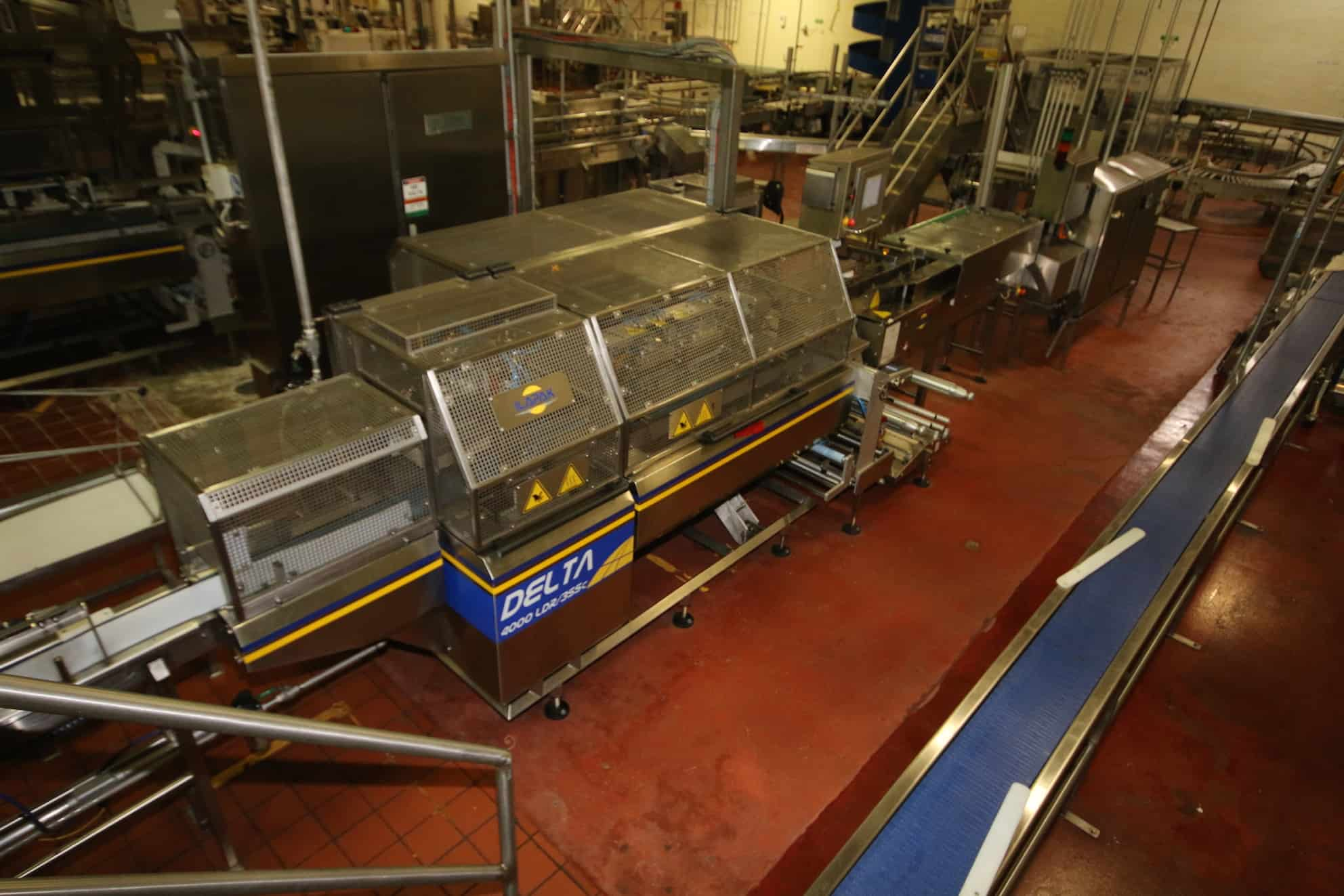2013 Ilapak Flow Wrapper, Model #Delta4000DR/3SSC, S/N 06402990007 with Controls and Touchpad Display (Pancake Line #5)
