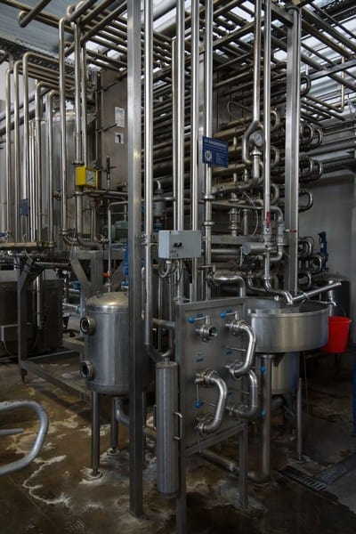 KF Engineering Tubular Pasteurizer 5500l/h (With Control Panel) ,Y.O.M 1994 GERMANY