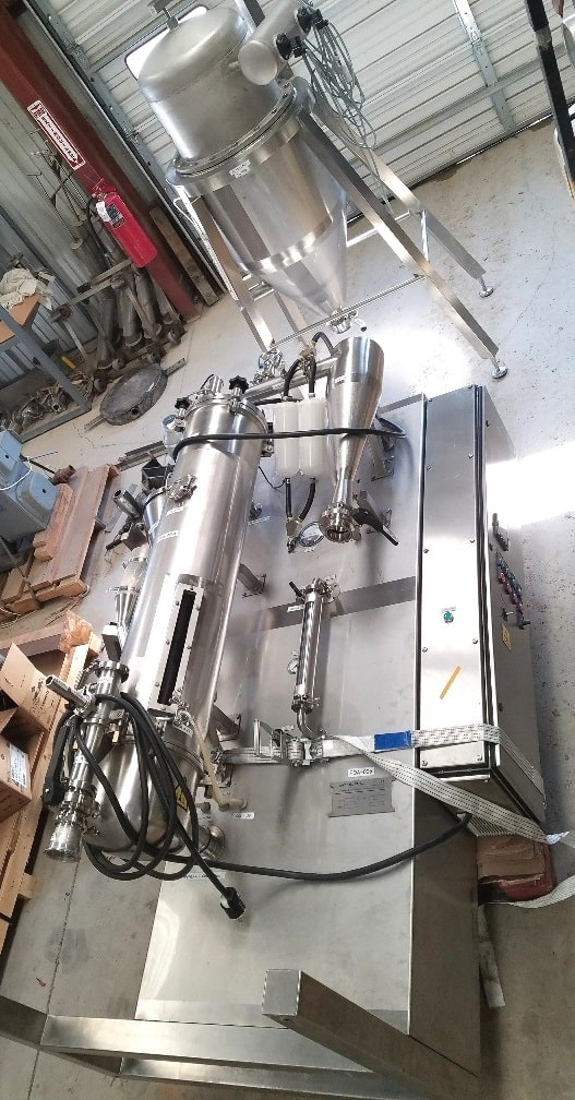 Anhydro model BFB30 Fluid Bed Dryer. Includes Dust Collector. Last used in Pharmaceutical plant. (Located in NJ)(***ECR***)