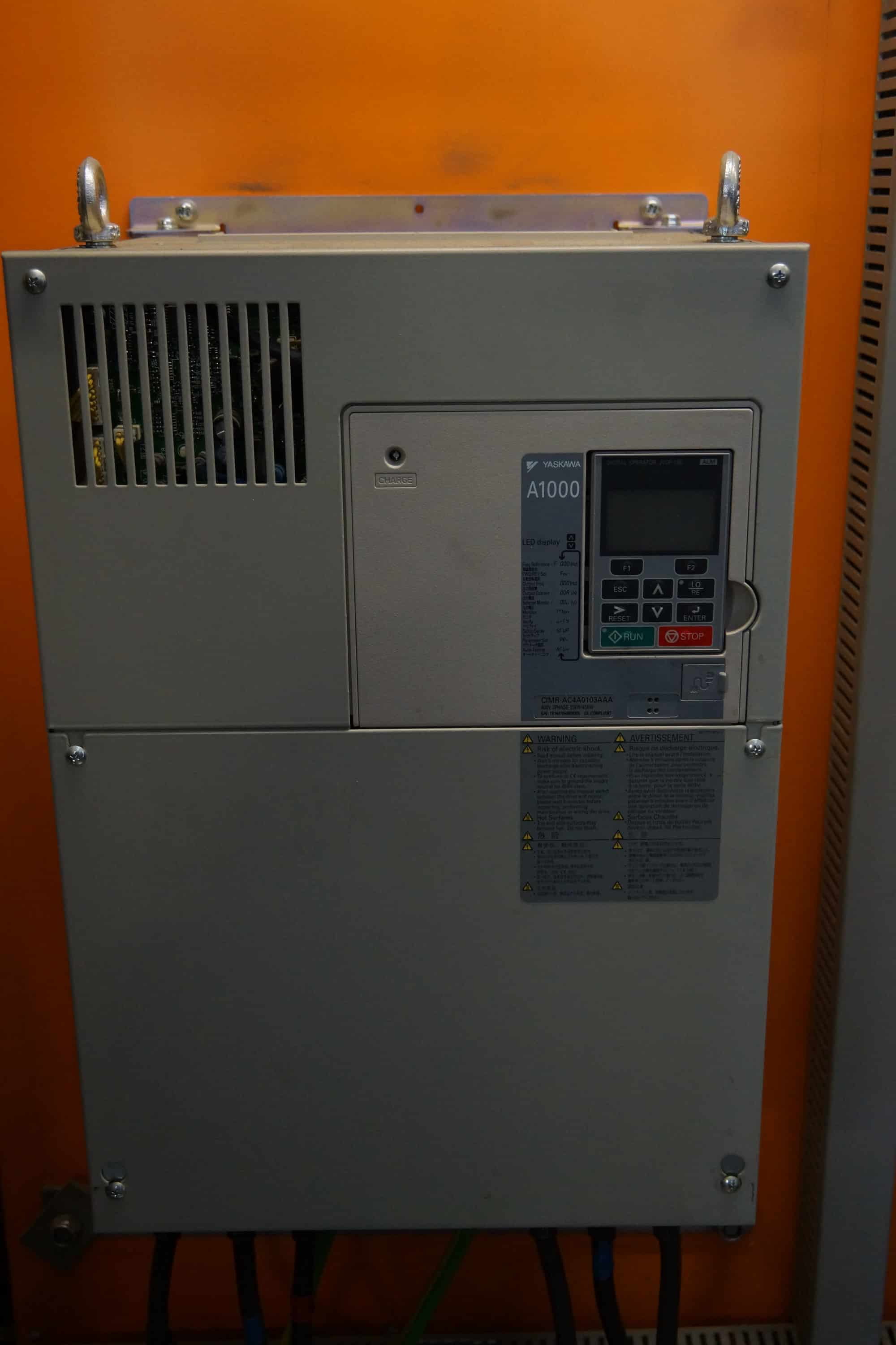 APV Gaulin 3-Piston Homogenizer, Model 1453MC15 – 2,5, 5,500 Liter Per Hour, VFD, (With control panel)