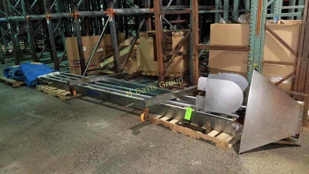 "Weighpack ~185"" L Belt Conveyor with 19-1/2"" W Belt"