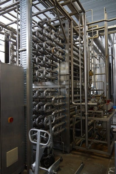 KF Engineering Tubular Pasteurizer 10000l/h (With Control panel) ,Y.O.M 1994,GERMANY