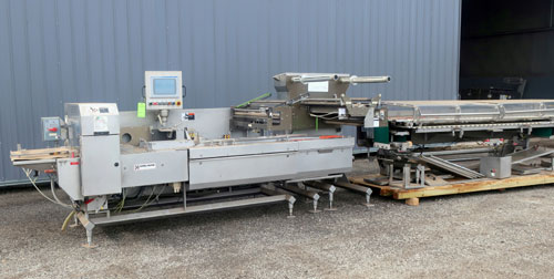 Campbell Revolution Horizontal Flow Wrapper, Serial # 542-0246.  Built 2007. (Additional Information Coming Soon!)
